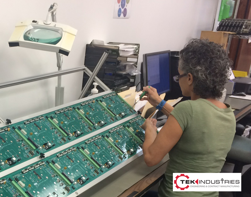 Surface Mount and Thru-Hole PCB Assembly - TEK Industries